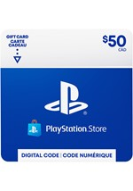 Playstation Store Gift Card  $50