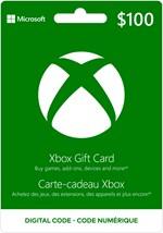 Xbox Digital Gift Card $100