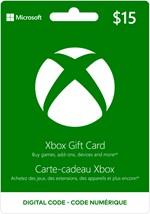 Xbox Digital Gift Card  $15