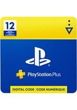 PlayStation Plus 12-Month Membership