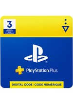 PlayStation Plus  3-Month Membership