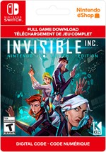 Invisible, Inc. Nintendo Switch Edition
