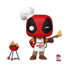 Pop! Marvel: Deadpool 30th- Backyard Griller Deadpool