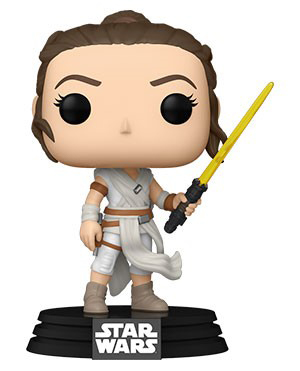 Pop! Star Wars: The Rise of the Skywalker - Rey w/ Yellow Saber