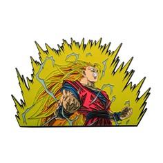 Dragon Ball Z 6-inch Goku Flame Enamel Pin
