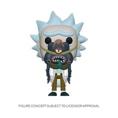 Pop! Animation: Rick & Morty- Rick w/ Glorzo