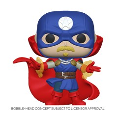 Pop! Marvel: Infinity Warps- Soldier Supreme
