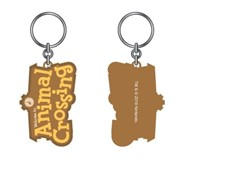 Animal Crossing Logo Keychain