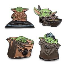 Star Wars: Mandalorian - Baby Yoda Pin Set