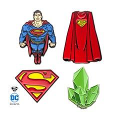 Superman Pin Set