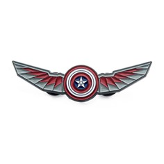 The Falcon Winged Shield Pin