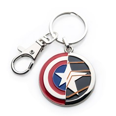 The Winter Soldier Cap Shield Key Chain