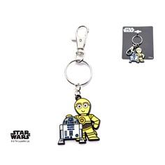 Star Wars R2-D2 & C-3PO Key Chain