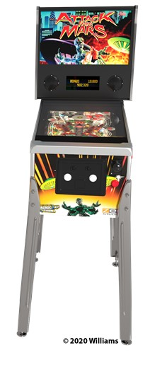 Pinball 1up Williams Bally