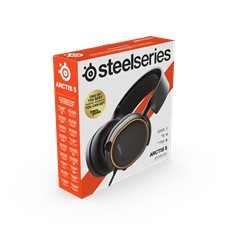 SteelSeries Arctis 5 - RGB Illuminated Gaming Headset with DTS Headphone:X v2.0 Surround