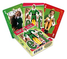 Elf Buddy Playing Cards