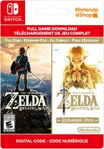 The Legend Of Zelda: Breath Of The Wild + Expansion Pass