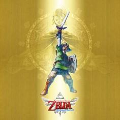 The Legend Of Zelda Gold 12x12 Canvas
