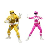 Power Rangers X TMNT Lightning Collection Michelangelo and  April O'Neil