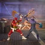 Power Rangers X TMNT Lightning Collection Raphael and Foot Soldier Tommy