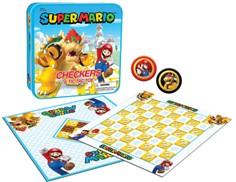 Checkers and Tic Tac Toe: Super Mario vs. Bowser