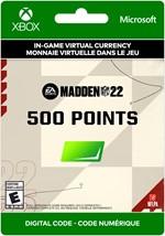 Madden NFL 22 Ultimate Team -   500 Points