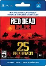 Red Dead Online -  25 Gold Bars