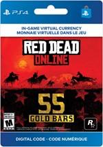 Red Dead Online -  55 Gold Bars