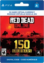 Red Dead Online - 150 Gold Bars
