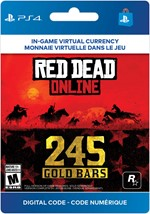 Red Dead Online - 245 Gold Bars