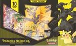 Pokemon TCG Pikachu & Zekrom GX Box - French Packaging