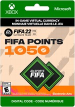 FIFA 22 Ultimate Team -  1,050 Points