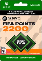 FIFA 22 Ultimate Team -  2,200 Points