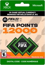 FIFA 22 Ultimate Team - 12,000 Points