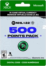 NHL 22 Ultimate Team -   500 Points