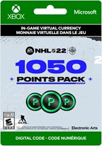 NHL 22 Ultimate Team -  1,050 Points
