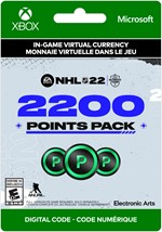 NHL 22 Ultimate Team -  2,200 Points