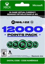 NHL 22 Ultimate Team - 12,000 Points